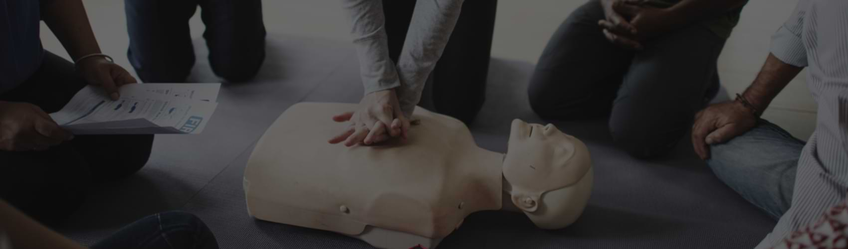 Workplace First Aid training courses delivered on or off site